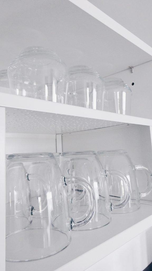 Glazen organizen