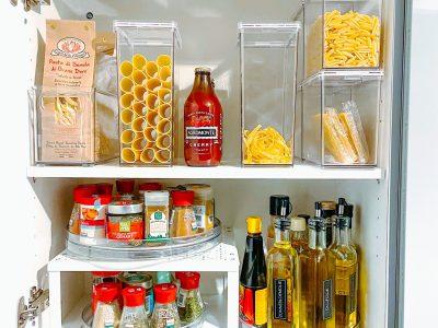 Pasta organiseren in de keuken - Opruimen en Organiseren - ORGANIZING GOALS