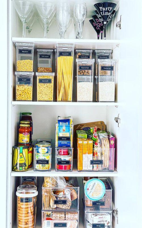 Voorraadkast en pantry organiseren - Opruimen en organiseren - ORGANIZING GOALS