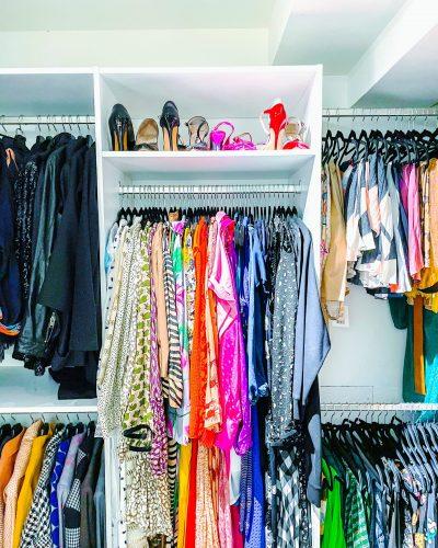 Walk in closet - opruimen en organiseren - ORGANIZING GOALS